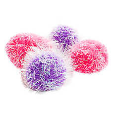Grreat Choice® Pom Pom Balls Value Pack Cat Toy