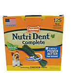 Nylabone Nutri Dent Complete Mini Dental Dog Chews - Natural, Chicken