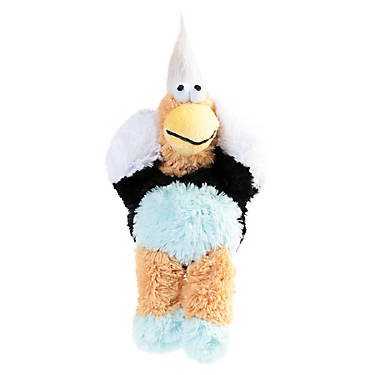 Kong 174 Wild Knots Bird Dog Toy Plush Squeaker Color