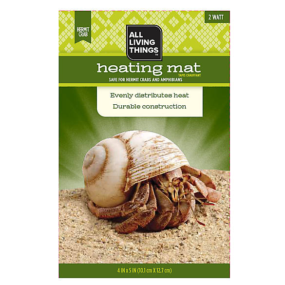 All Living Things 174 Hermit Crab Heating Mat Reptile
