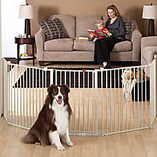 Merveilleux Top Paw® Super Wide Convertible Pet Gate