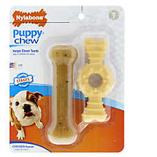 Nylabone® Puppy Chew Dog Toys - 2 Pack
