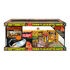 Zoo Med™ ReptiHabitat® Bearded Dragon 40 Gallon Terrarium Kit
