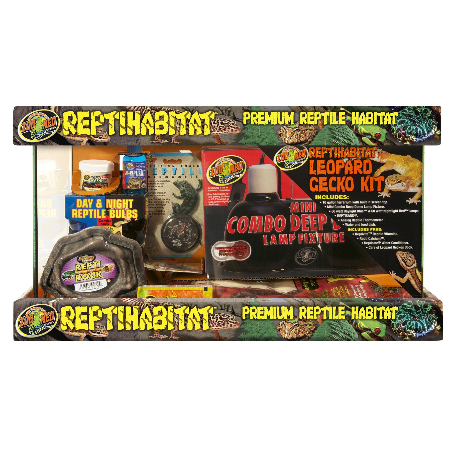 Zoo Med ReptiHabitat Leopard Gecko Terrarium Kit