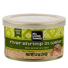 All Living Things® Hermit Crab River Shrimp Snack