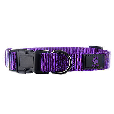 Top Paw Gunmetal Core Dog Collar