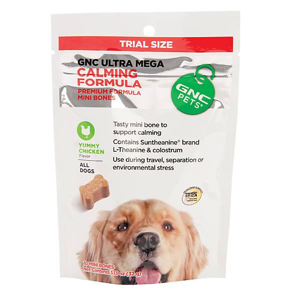 Gnc Pets 174 Ultra Mega Calming Formula Mini Dog Bone Dog