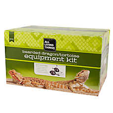 All Living Things® Bearded Dragon, Tortoise Equipment Kit