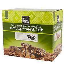 All Living Things® Leopard Gecko, Snake Equipment Kit