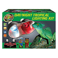 Zoo Med™ Day/Night Tropical Lighting Kit