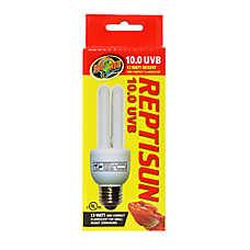 Zoo Med™ ReptiSun® 10.0 UVB Mini Compact Fluorescent Bulb
