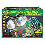 ZOO MED™ Tropical Reptile UVB & Heat Lighting Kit
