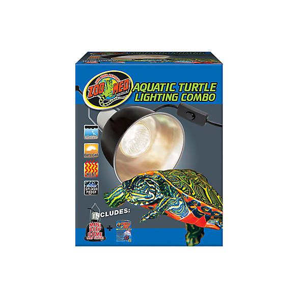 Zoo Medu0026trade; Aquatic Turtle Lighting Combo  sc 1 st  PetSmart & Setup for New Turtle or Tortoise | PetSmart
