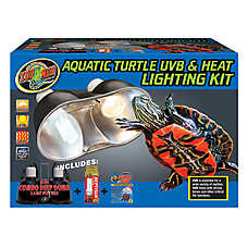 Zoo Med™ Aquatic Turtle UVB & Heat Lighting Kit