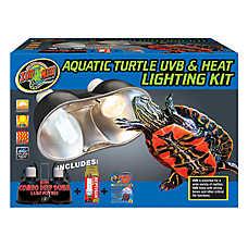 Zoo Med™ Aquatic Turtle UVB & Heat Lighting Kit
