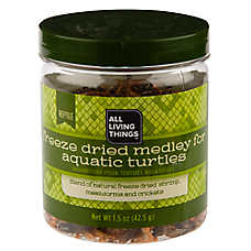 All Living Things® Freeze Dried Medley Aquatic Turtle Food