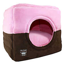 Hip Doggie Deluxe Single Door Pop Tent Pet Bed