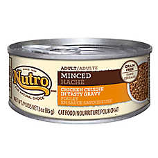 NUTRO® Adult Cat Food - Natural, Grain Free, Minced
