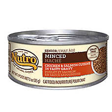 NUTRO® NATURAL CHOICE® Minced Senior Cat Food