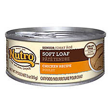 NUTRO® NATURAL CHOICE® Soft Loaf Senior Cat Food