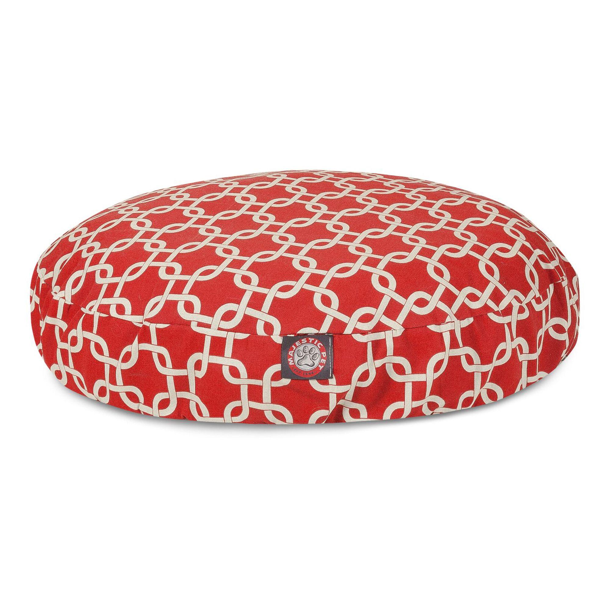 Terrific Majestic Pet Links Round Pet Bed Creativecarmelina Interior Chair Design Creativecarmelinacom