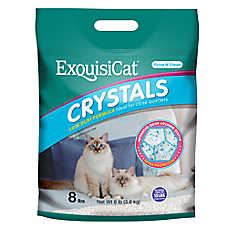 Exquisicat® Crystal Low Dust Formula Cat Litter