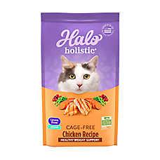 HALO® DreamCoat Indoor Healthy Weight Cat Food - Natural, Grain Free, Chicken & Chicken Liver Recipe