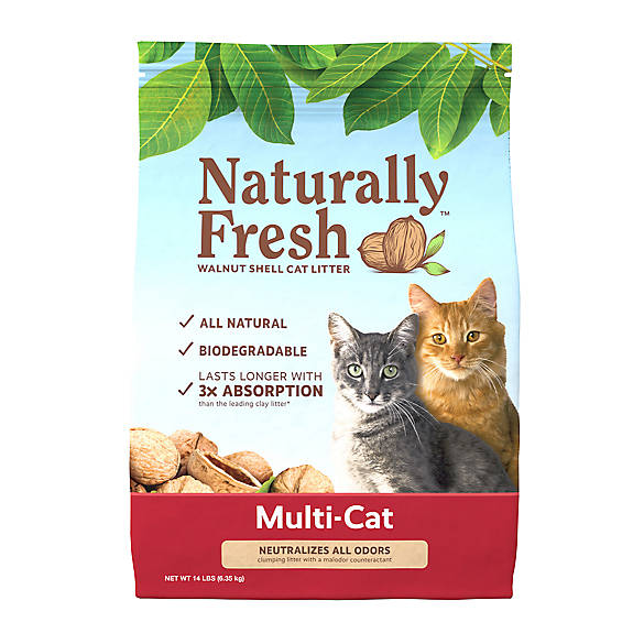 Naturally Fresh Multi Cat Quick Clumping Cat Litter Natural Cat