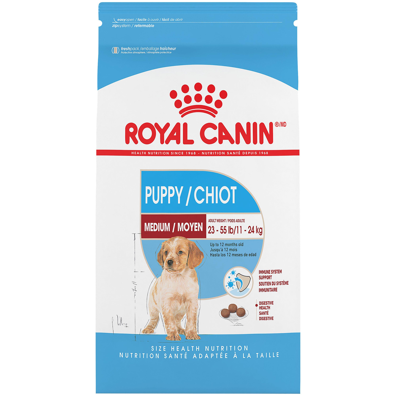 Royal Canin Size Health Nutrition Medium Puppy Food Dog Dry Food Petsmart