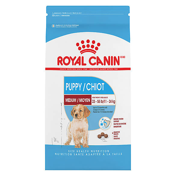 royal canin size health nutrition medium puppy food dog dry food petsmart. Black Bedroom Furniture Sets. Home Design Ideas