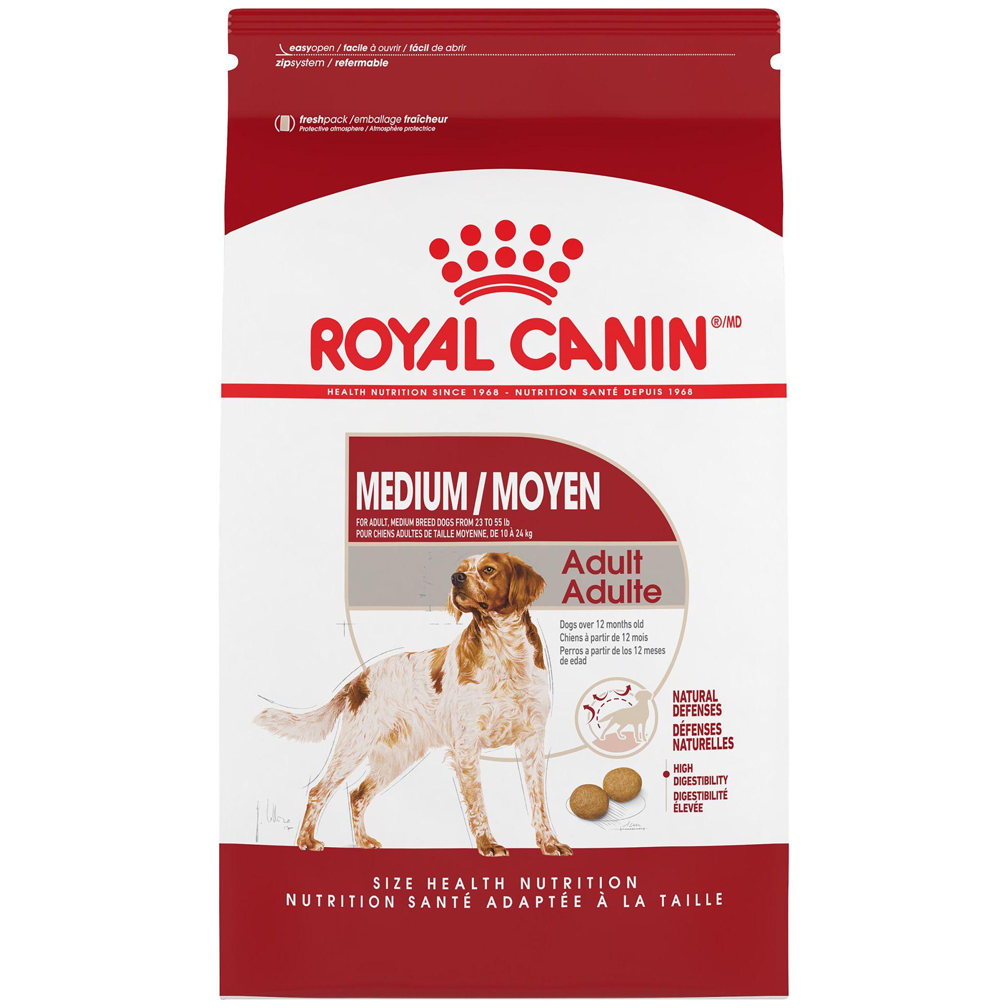 Royal Canin Size Health Nutrition Trade Medium Adult Dog Food Dog Dry Food Petsmart