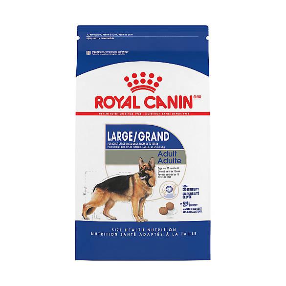 royal canin size health nutrition maxi adult dog food dog dry food petsmart. Black Bedroom Furniture Sets. Home Design Ideas