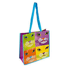 PetSmart Cat Pop Art Recycled Pet Bag