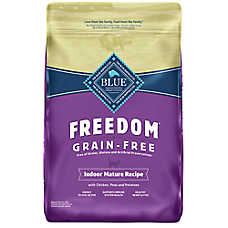 BLUE Freedom® Grain Free Chicken Indoor Senior Cat Food