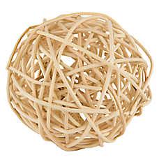 All Living Things® Play-N-Chew Stick Ball Small Animal Ball
