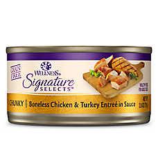 Wellness® Signature Selects Cat Food - Natural, Grain Free