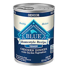 BLUE Homestyle Recipe® Chicken & Vegetable Senior Dog Food