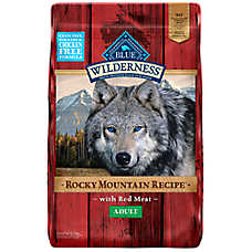 BLUE Wilderness® Rocky Mountain Recipe™ Grain Free Adult Dog Food -  Red Meat
