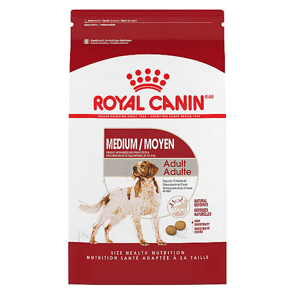 royal canin size health nutrition medium adult dog food dog dry food petsmart. Black Bedroom Furniture Sets. Home Design Ideas