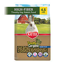 KAYTEE® Alfalfa Free Timothy Fiber Diet Rabbit Food