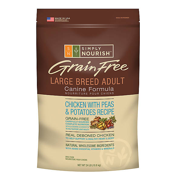 Simply Nourish Large Breed Adult Dog Food