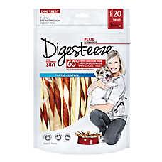 Digest-eeze Rawhide Twists Dog Treat