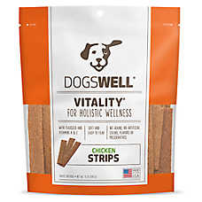 DOGSWELL® Vitality Chicken Strips Dog Treat - Natural, Grain Free