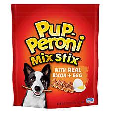 Pup-Peroni® Mix Stix Dog Treat - Bacon & Egg