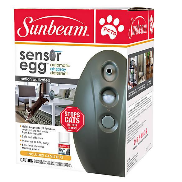 Sunbeam 174 Sensor Egg Cat Deterrent Cat Repellants Petsmart