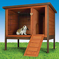 All Living Things 174 Rabbit Hutch Small Pet Cages Petsmart