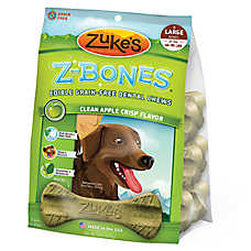 Zuke's Z-Bones Dog Dental Chew - Grain Free