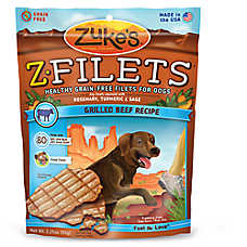 Zuke's® Z-Filets® Grain Free Dog Treat