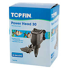 Top Fin® Power Head Aquarium Pump