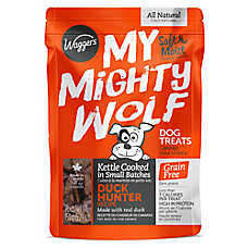 Waggers™ My Mighty Wolf Dog Treat - Natural, Grain Free, Duck